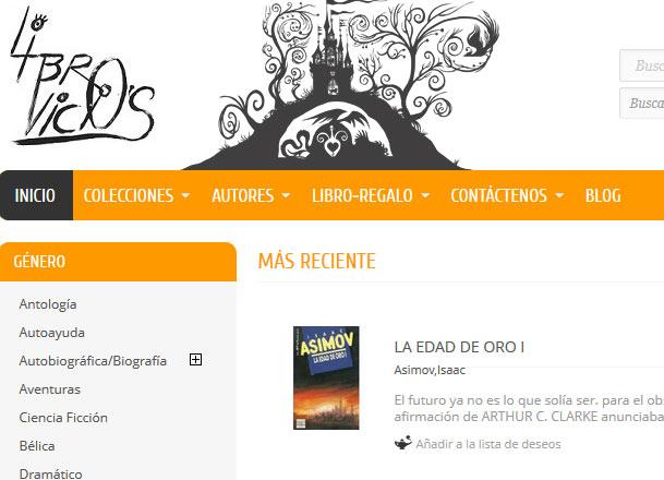 Libros de segunda mano online librovicios s web huesca - Libreria segunda mano online ...